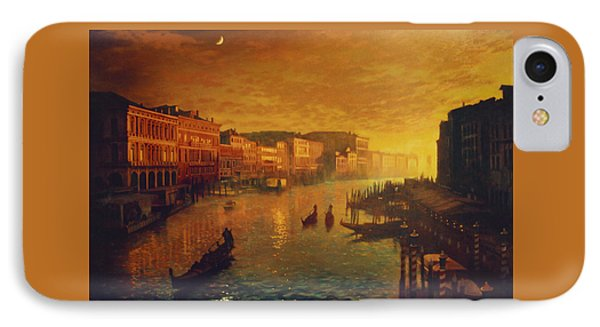 Venice From The Rialto Bridge IPhone Case by Blue Sky
