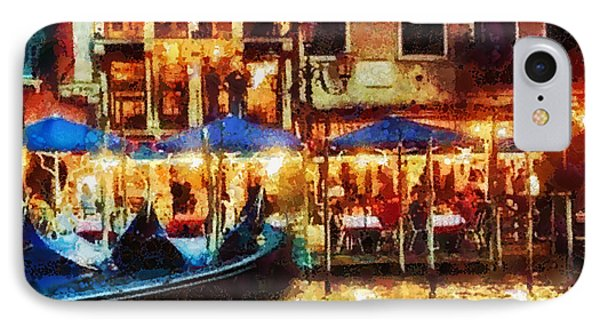 Venice Glow Phone Case by Mo T