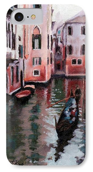 Venice Gondola Ride IPhone Case by Janet King