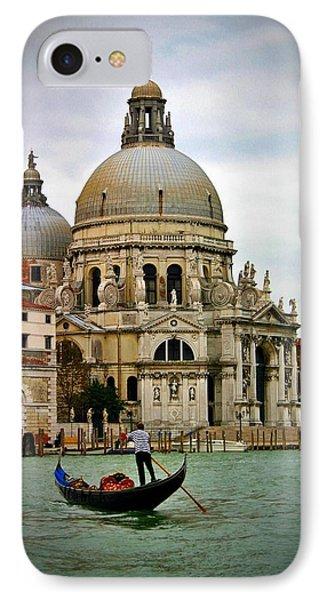 Venice Gondola IPhone Case by Henry Kowalski