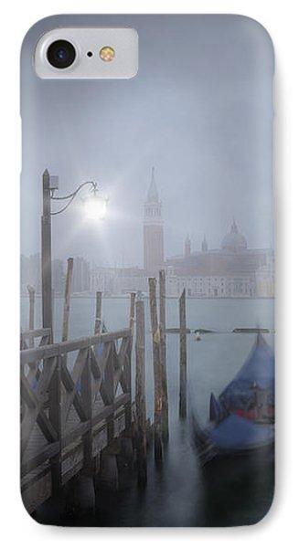 Venice Gondolas In The Mist IPhone Case