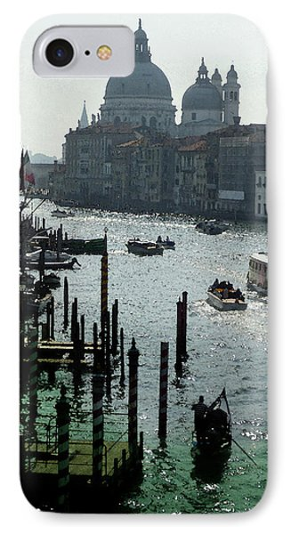 Venice Grand Canale Italy Summer IPhone Case by Irina Sztukowski
