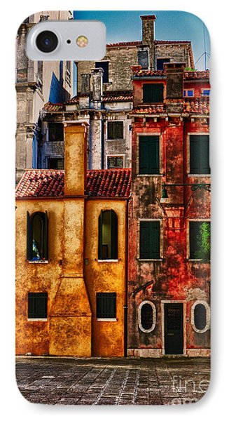 IPhone Case featuring the photograph Venice Homes by Jerry Fornarotto