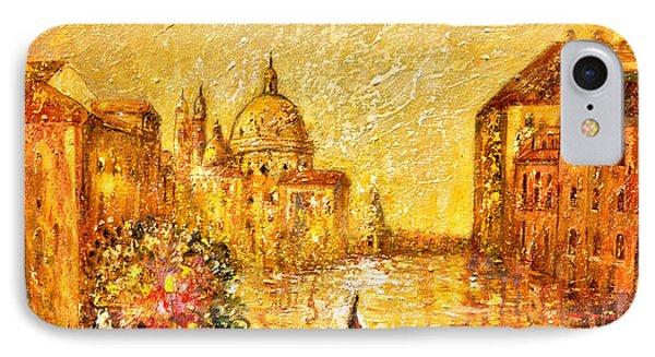 Venice II Phone Case by Shijun Munns