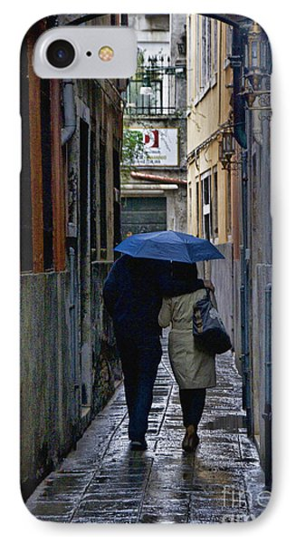 Venice In The Rain IPhone Case by Crystal Nederman