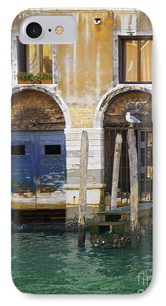 Venice Italy Double Boat Room IPhone Case