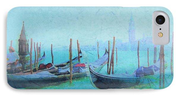 Venice Italy Gondolas With San Giorgio Maggiore IPhone Case by Douglas MooreZart