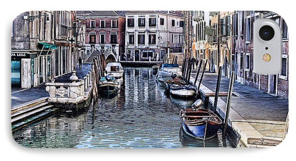 Venice Italy Iv IPhone Case by Tom Prendergast