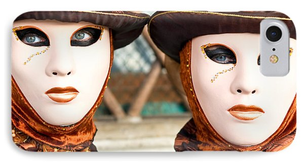 Venice Masks - Carnival. IPhone Case