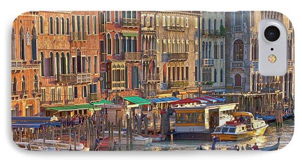 Venice Palazzi At Sundown Phone Case by Heiko Koehrer-Wagner