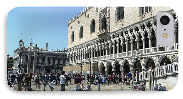 Venice Palazzo Ducale IPhone Case by Ted Pollard