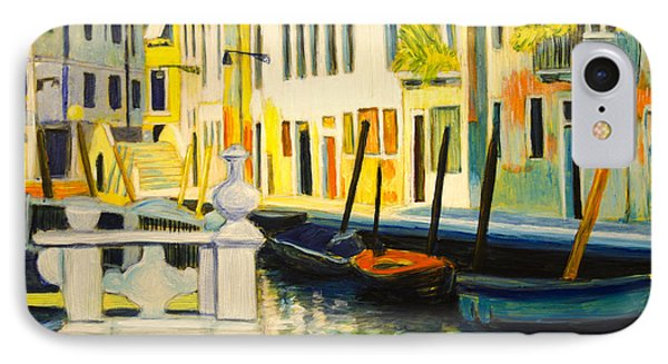 Venice Remembered IPhone Case by Ron Richard Baviello