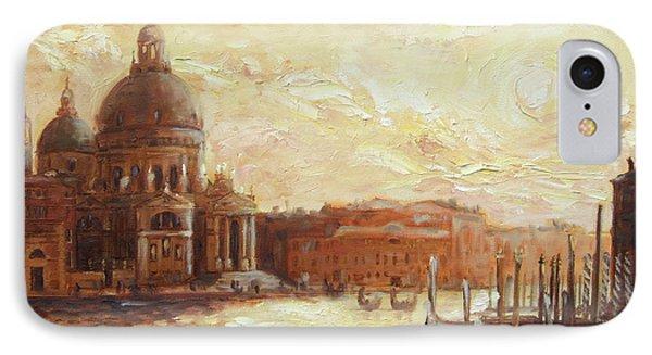 Venice - Santa Maria Della Salute IPhone Case by Irek Szelag