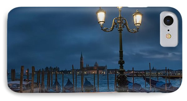 IPhone Case featuring the photograph Venice Streetlight by Phyllis Peterson
