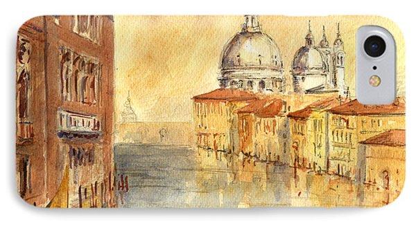 Venice Sunset IPhone Case by Juan  Bosco