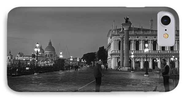 Venice Sweepers IPhone Case by Marion Galt