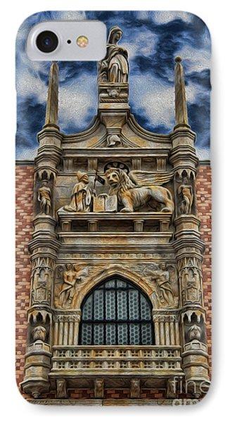 Venice - The Lion Of Saint Mark Phone Case by Lee Dos Santos