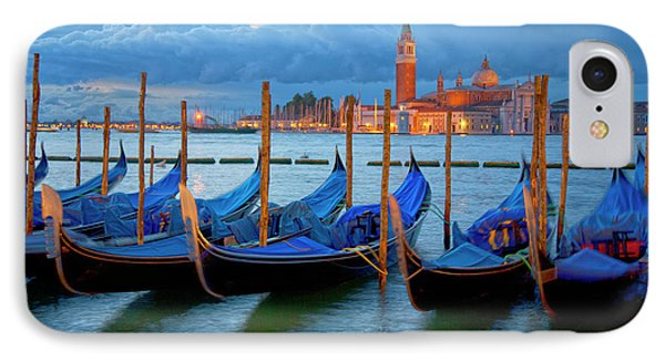 Venice View To San Giorgio Maggiore IPhone Case by Heiko Koehrer-Wagner