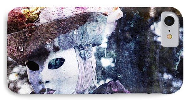 IPhone Case featuring the photograph Venitian Carnival - I Love Mystery by Barbara Orenya