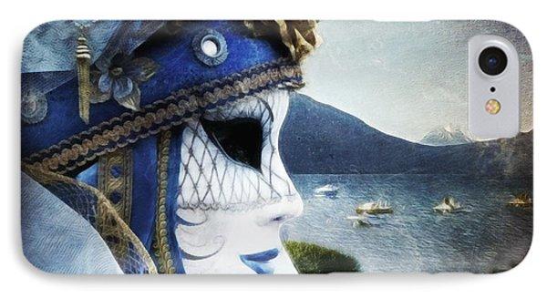 Venitian Carnival - La Dame Du Lac IPhone Case