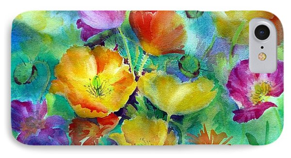 Ventana Poppies IPhone Case by Summer Celeste