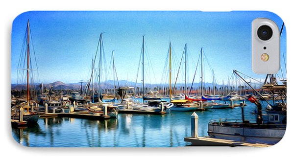 Ventura Harbor IPhone Case by Tricia Marchlik