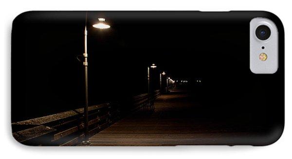 Ventura Pier At Night Phone Case by John Daly