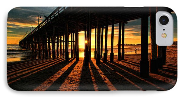 Ventura Pier At Sunset IPhone Case