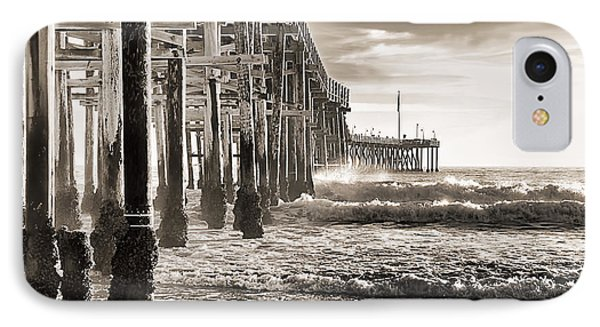 Ventura Pier Study I IPhone Case