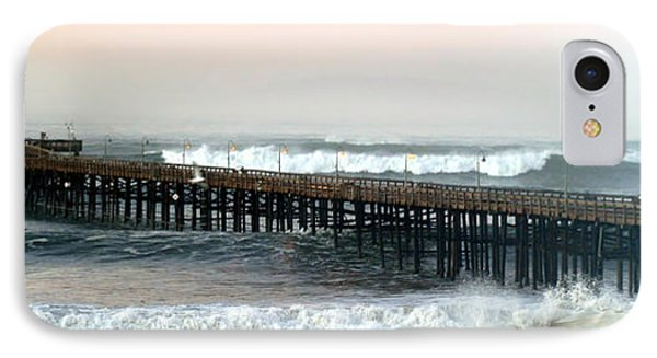 Ventura Storm Pier IPhone Case by Henrik Lehnerer