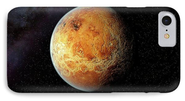 Venus And Its Rocky Surface IPhone Case by Joe Tucciarone