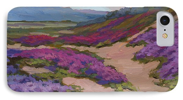 Verbena Harmony In Purple Phone Case by Diane McClary