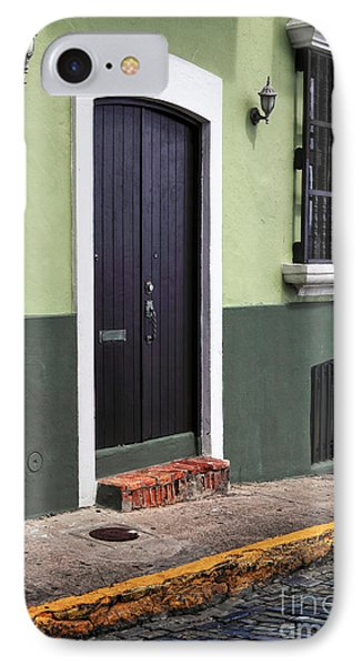 Verde En San Juan Phone Case by John Rizzuto