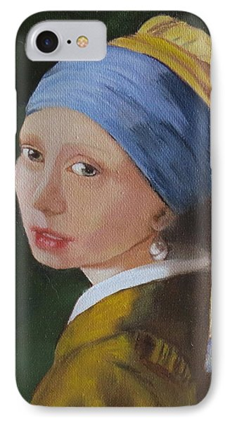Vermeer Study IPhone Case