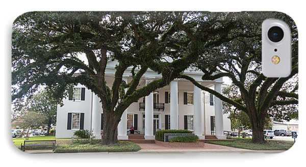 IPhone Case featuring the photograph Vermillion Parish Courthouse by Gregory Daley  PPSA
