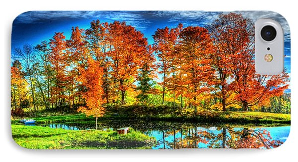 Vermont Colors IPhone Case by John Nielsen