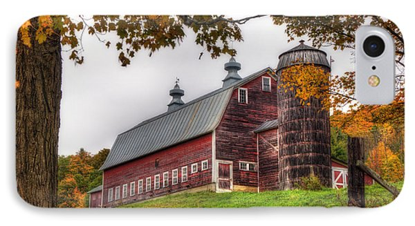 Vermont Country Barn In Autumn IPhone Case