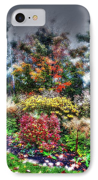 Vermont Fall Garden IPhone Case by John Nielsen
