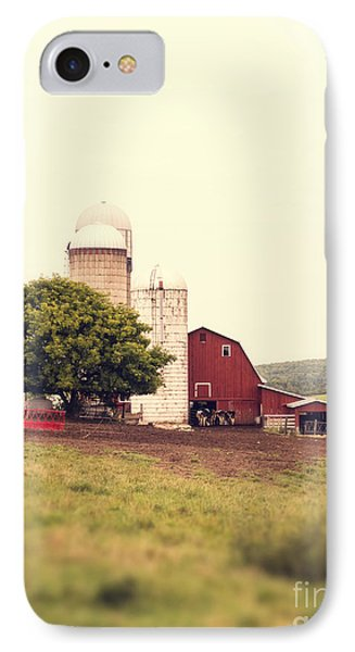Vermont Family Farm IPhone Case by Edward Fielding