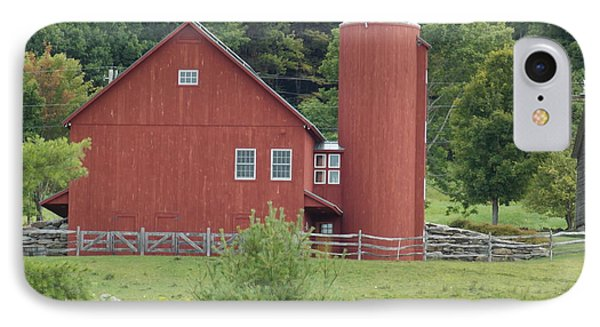 Vermont Farm IPhone Case by Catherine Gagne