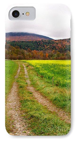 Vermont Farmer's Track IPhone Case