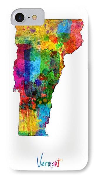 Vermont Map IPhone Case