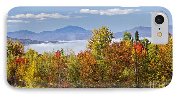 Vermont October Morning IPhone Case
