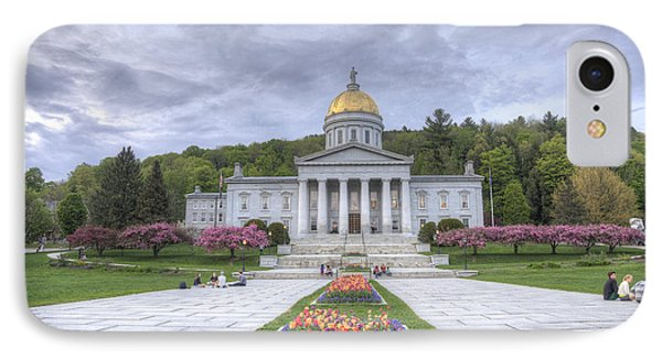 Vermont State House IPhone Case