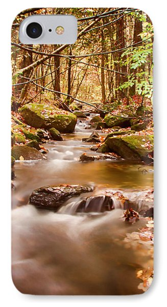 IPhone Case featuring the photograph Vermont Stream by Jeff Folger