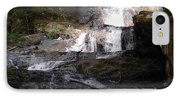 Vermont Waterfall IPhone Case by Catherine Gagne