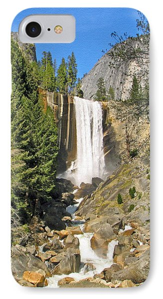 Vernal Fall On The Mist Trail IPhone Case