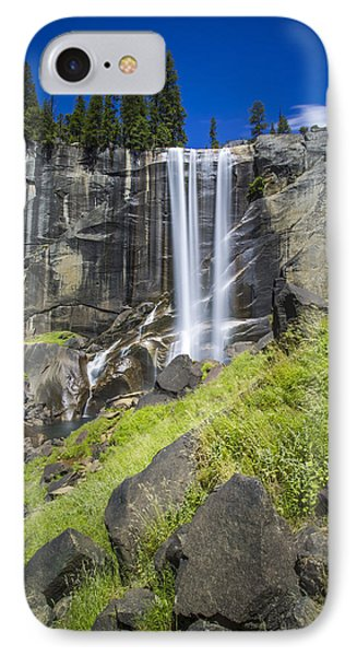 Vernal Falls In July At Yosemite IPhone Case