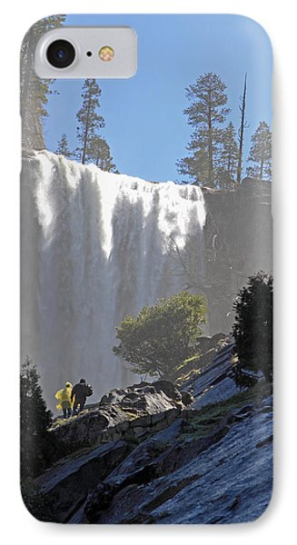 IPhone Case featuring the photograph Vernal Falls Mist Trail by Duncan Selby