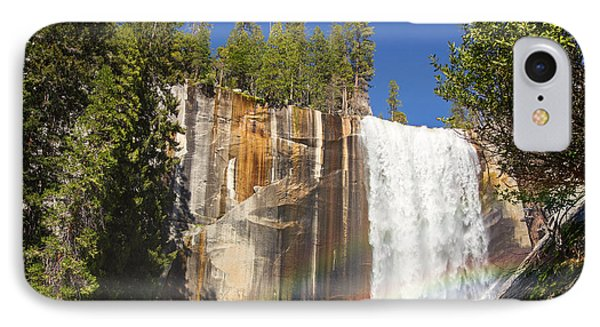 Vernal Falls Rainbow IPhone Case by Jane Rix